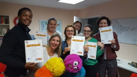 Szkolenie wdrożeniowe w Gdyni w szkole LA MANCHA z metody Colorín Colorado – español, robots y teclado 22.09. 2017