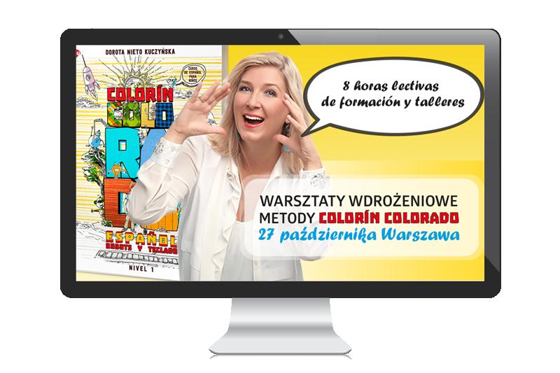 Szkolenie wdrożeniowe z metody Colorín Colorado w Warszawie