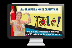 Szkolenie La gramática No Es dramática