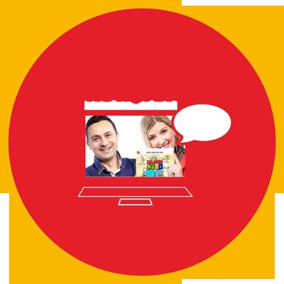 Lekcje online z Dorotą i Davidem